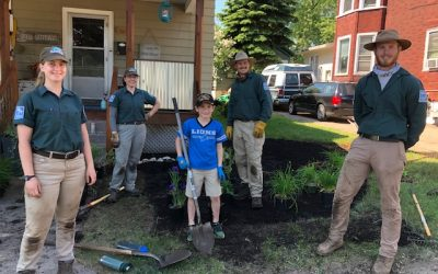 Four Rain Gardens Installed in Marquette, Benefiting Residents and Businesses, Creating Educational Opportunities